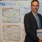 Graphic Recording at the SIETAR Forum Integral Conference - Mathias Weitbrecht, Visualisierungsexperte und Graphic Recorder