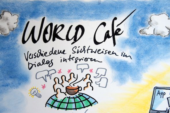 Graphic Recording Detail - World Cafe